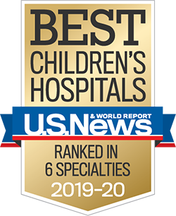 Best Children's Hospitals rankings