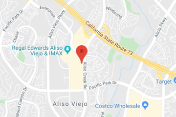 map of pediatric urgent care in aliso viejo