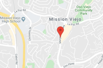 map of pediatric urgent care in mission viejo