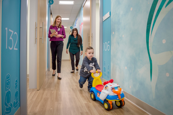 child with autism receives care at choc